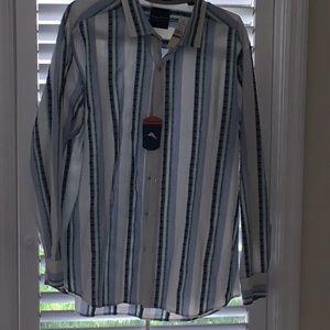 Tommy Bahama NWT. Men's striped Shirt. XXL
